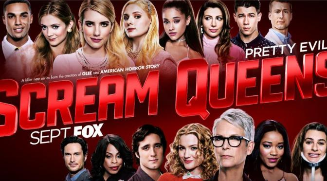 """""""THE RED DEVIL IS HERE"""" (SCREAM QUEENS REVIEW)"""
