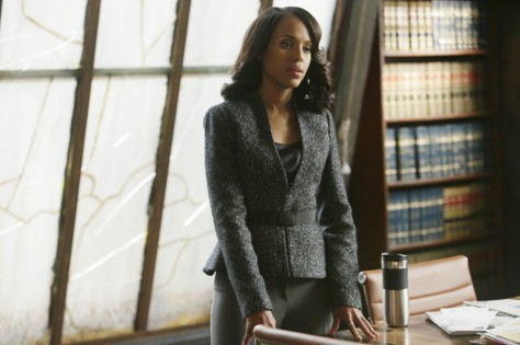 Kerry Washington como Olivia Pope en Scandal.