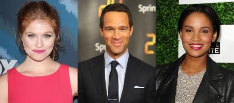 Genevieve Angelson, Chris Diamantopoulous, Joy Bryant.
