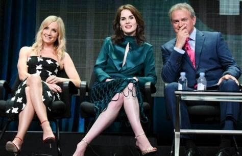Panel de Downton Abbey (PBS).