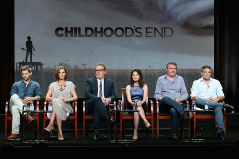 Panel de Childhood's End (SYFY).