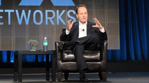 John Landgraf, durante el panel ejecutivo de FX.