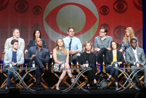 Panel de Supergirl (CBS).