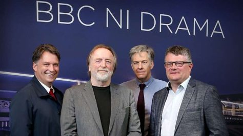 El equipo responsable de My Mother and Other Strangers (BBC One).