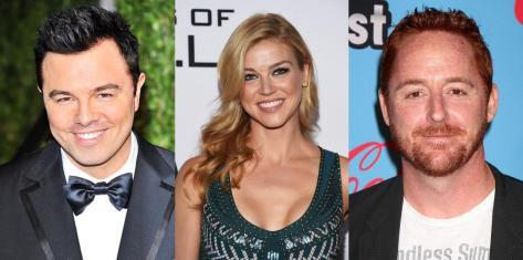 Seth MacFarlane, Adrianne Palicki, Scott Grimes.
