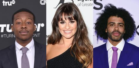 Brandon Micheal Hall, Lea Michele, Daveed Diggs.