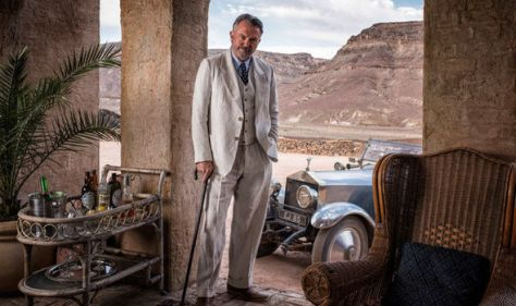 Sam Neill en Tutankhamun (ITV).