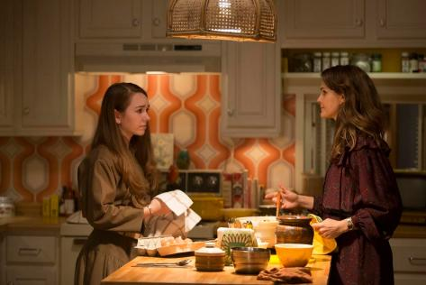 Holly Taylor y Keri Russell (The Americans).