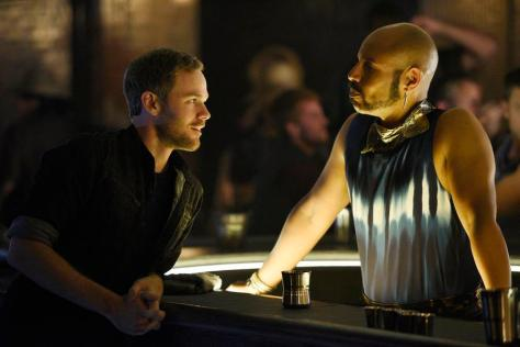 Aaron Ashmore and Thom Allison (Photo by: Steve Wilkie/Temple Street Releasing Limited/Syfy)