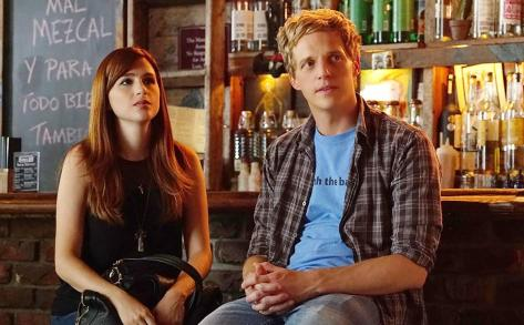 Aya Cash y Chris Geere (You're The Worst).