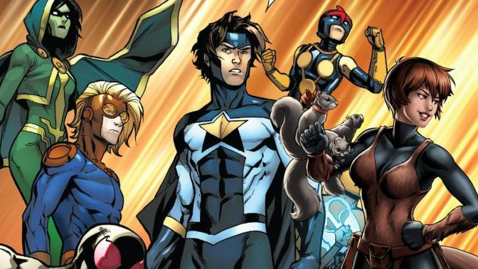 "MARVEL BUSCA NUEVA CASA PARA ""NEW WARRIORS"""