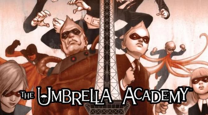 """""""THE UMBRELLA ACADEMY"""" YA ES NUEVA SERIE ORIGINAL DE NETFLIX"""