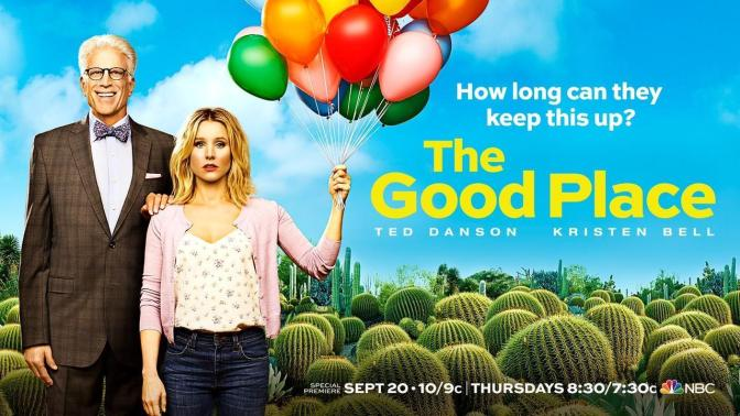 """THE GOOD PLACE : MOTHER FORKING SHIRT BALLS!"""