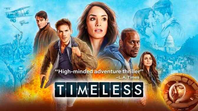 NBC ANUNCIA FECHA PARA EL CIERRE DE 'TIMELESS'