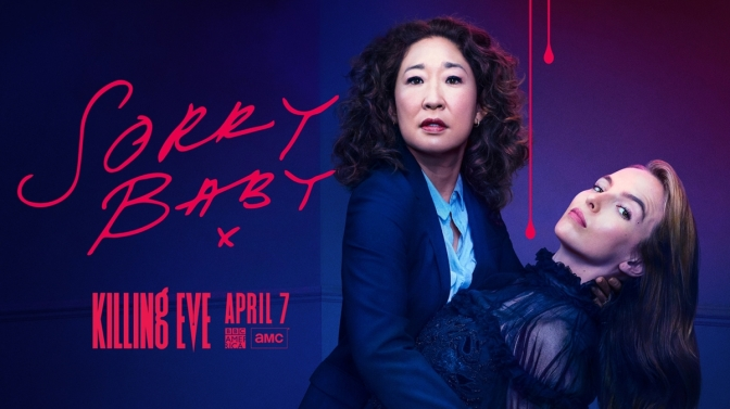 'KILLING EVE' : GAME ON!
