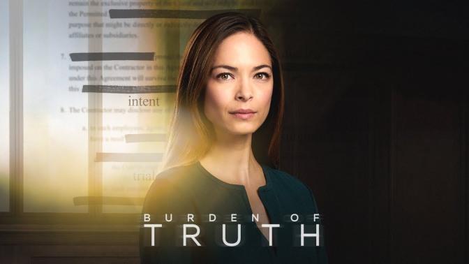 TERCERA TEMPORADA PARA 'BURDEN OF TRUTH'