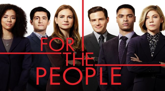 'FOR 'THE PEOPLE' QUEDA CANCELADA EN ABC