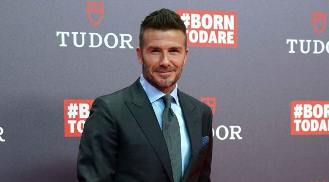 DAVID BECKHAM LIDERARÁ UNA DOCUSERIE EN DISNEY+