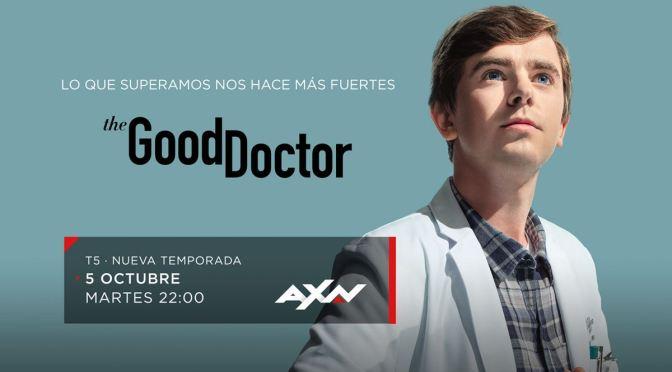 'THE GOOD DOCTOR' REGRESA A AXN ESPAÑA